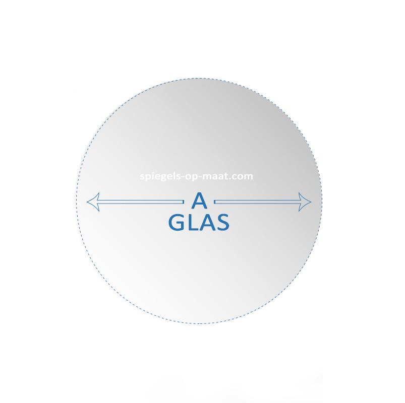 Geliefde Glas - rond | spiegels-op-maat.nl AT59